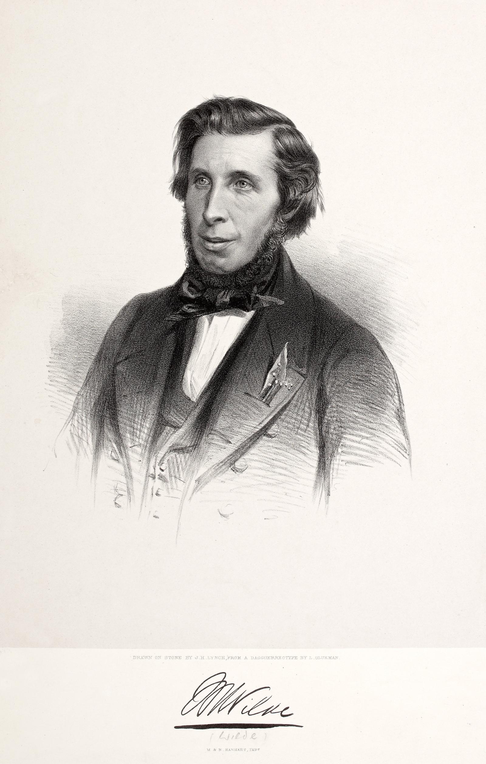 Image - William Wilde. Image courtesy of the National Library of Ireland