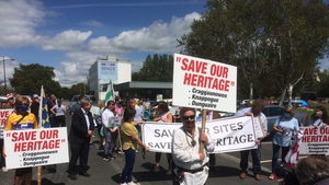 The protest was organised by both SIPTU and the workers to express their anger at Shannon Groups decision to keep a number of visitor centres closed and the threat of closing a number of other sites at the end of August