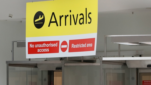 104 Covid welfare payments stopped after airport checks
