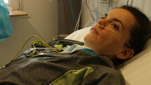 Kelly Talty has been battling Covid-19 for several months