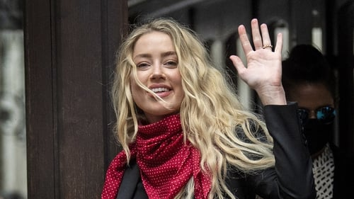Amber Heard made the claim on the second day of her evidence at London's High Court