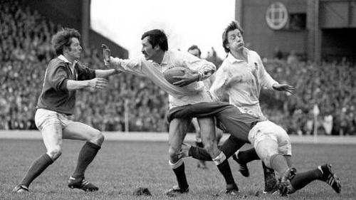 Slemen was a member of England's 1980 Grand Slam