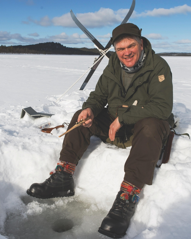 Ray Mears from Wilderness Chef: The Ultimate Guide to Cooking Outdoors by Ray Mears (Bloomsbury, £20) (David Southey/PA)