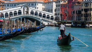 The move is a safety measure, rather than a bid to increase the gondolier's profits by spreading customers over more boats