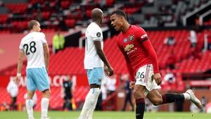 Manchester United's Mason Greenwood scored the equaliser