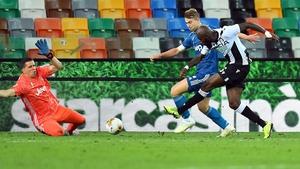Seko Fofana scores the winner for Udinese