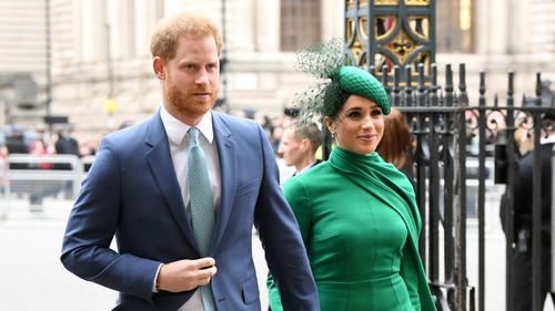 Prince Harry and Meghan Markle quit royal duties in March last year and now live in California