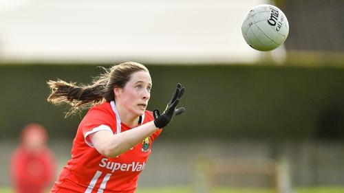 Áine Terry O'Sullivan hit three goals for Cork