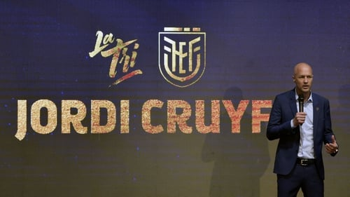 Cruyff was appointed in January