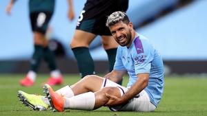 The injury happened against Burnley