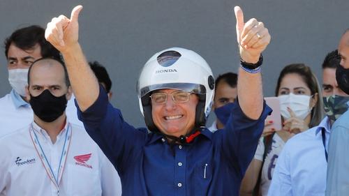 Brazil's Bolsonaro tweets negative COVID-19 test