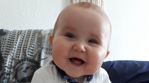 Baby Cody Grennan has struggled with many health challenges since birth