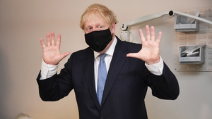 Mr Johnson admitted to having weight issues and changing some of his daily habits to tackle them