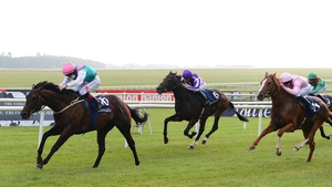 Siskin and Colin Keane lead the field home in the Irish 2,000 Guineas at the Curragh