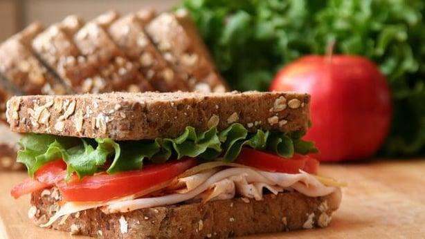 sandwich healthy wholegrain