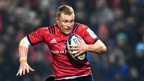Keith Earls is back in training