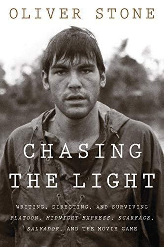 Oliver Stone Book - Chasing The Light