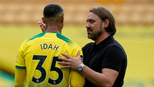 Daniel Farke is back is the top flight with Norwich along with Adam Idah