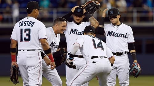 Four more Marlins players test positive for COVID-19