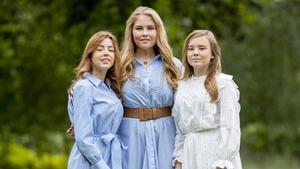 Princesses Alexia, Amalia and Ariane. Photo: Getty