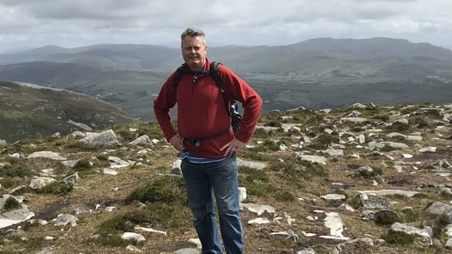 League of his own: RTÉ's Vincent Kearney on Sliabh Liag in County Donegal