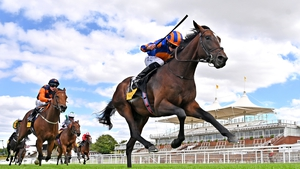 Battleground had two lengths to spare over his rivals