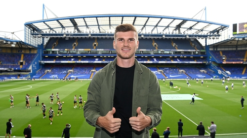 Timo Werner is targeting league titles and Champions League medals with Chelsea