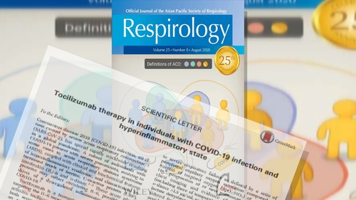 The study was published in the medical journal Respirology