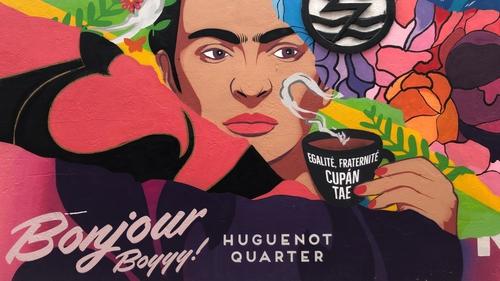 Huguenot Quarter street art