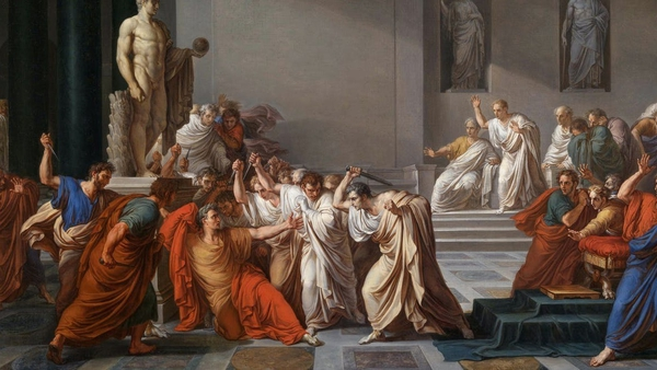 La mort de Cèsar (The Death of Julius Caesar) by Vincenzo Camuccini (1806). Photo: Wikipedia/Creative Commons