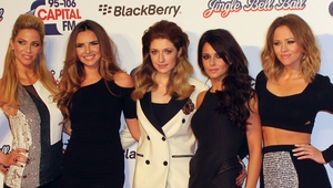 Sarah Harding, Nadine Coyle, Nicola Roberts, Cheryl Tweedy and Kimberly Walsh of Girls Aloud
