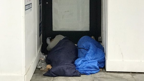 There are 4,452 single people in emergency accommodation (File image)