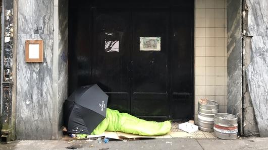 Homelessness in Cork
