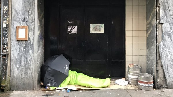 39 homeless people have died in Dublin this year (File pic)