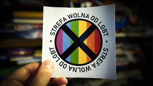 "Some Polish regions have declared themselves ""LGBT ideology-free zones"" that Brussels regards as discriminatory"