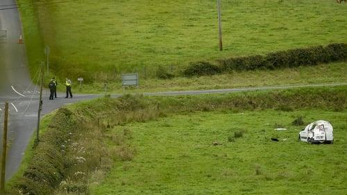 The single-vehicle crash happened on the R181, between Castleblayney and Lough Egish (Pic: Philip Fitzpatrick)