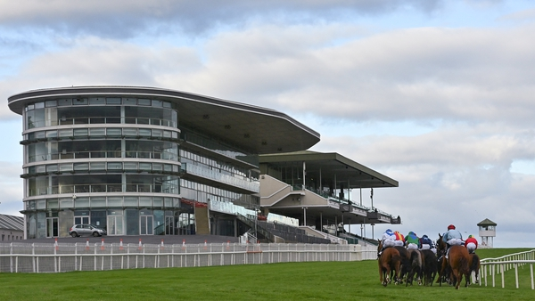 The action continues at Ballybrit Racecourse