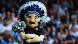 Big Chief, the Exeter Chiefs mascot
