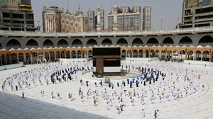 Just 10,000 pilgrims will be allowed in to Islam's holiest site