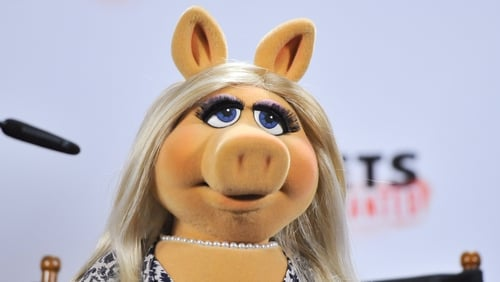 Miss Piggy - Was ready to kick off with Michael Ball