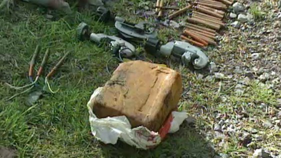 Explosives Found In Cork Forest