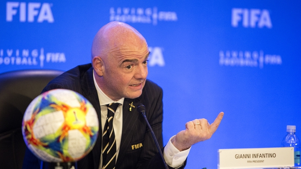 Gianni Infantino has been head of FIFA since succeeding the now disgraced former president Sepp Blatter in 2016