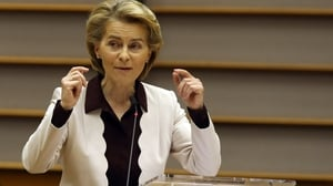 Ms Von der Leyen said she will continue to push for equality and LGBTI rights