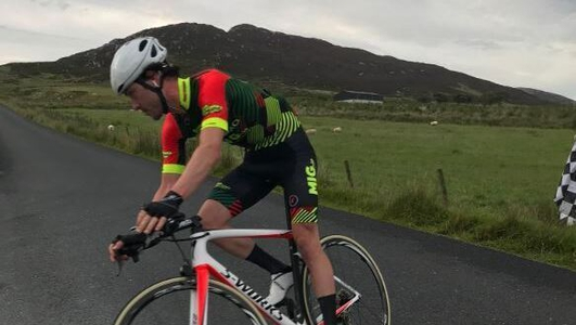 Donegal man Ronan McLaughlin sets new Everesting record