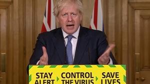 Boris Johnson said case rises mean 'we should squeeze that brake pedal'
