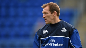 Shaun Berne in his coaching role with Leinster's academy in 2015