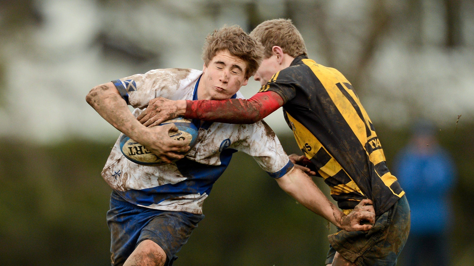 Image - Jordan Larmour in action for St Andrews College in 2013
