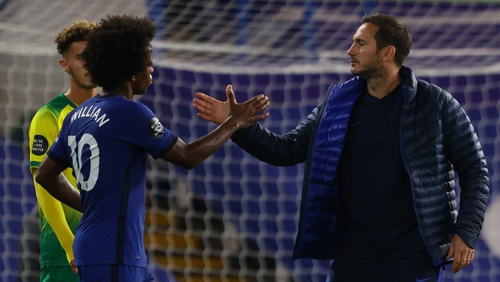 Lampard has no concerns about Willian ahead of the finale against Arsenal