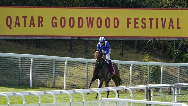 Battaash is unbeaten at Goodwood