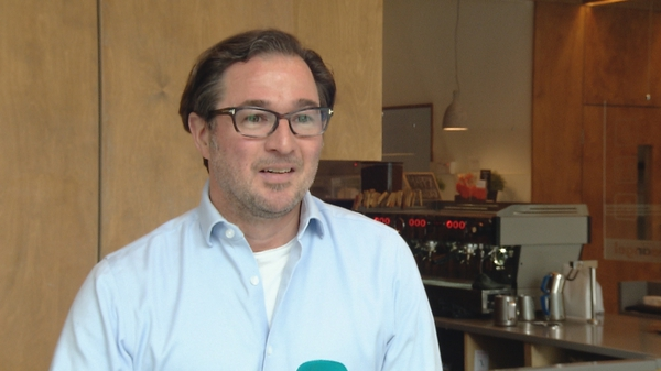 Owner of Coffeeangel Karl Purdy said 'we are just trying to see the rest of the year through'